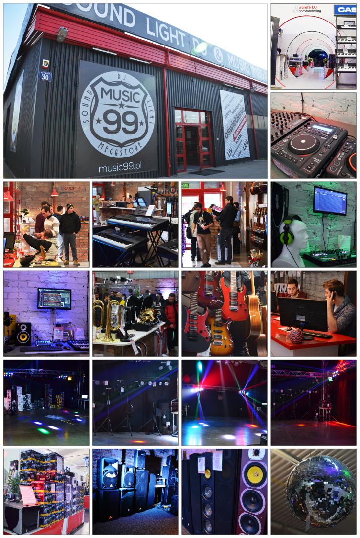 MUSIC 99 - Sound Light Dj & Music Megastore
