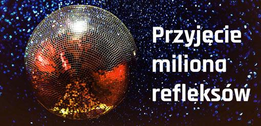 kule disco lustrzane na sylwestra