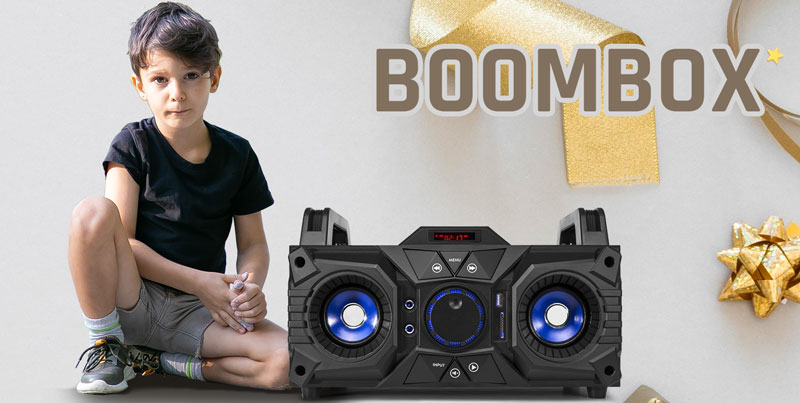 Boombox jako prezent komunijny