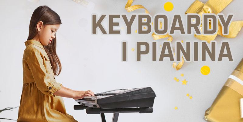 Keyabord albo pianino jako prezent na Komunię