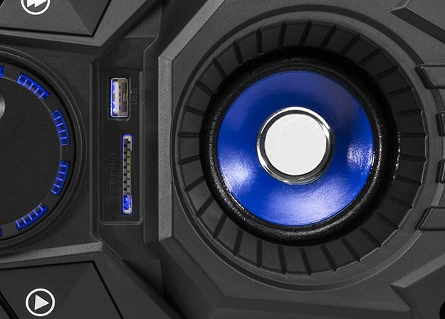 Boombox o mocy 100W