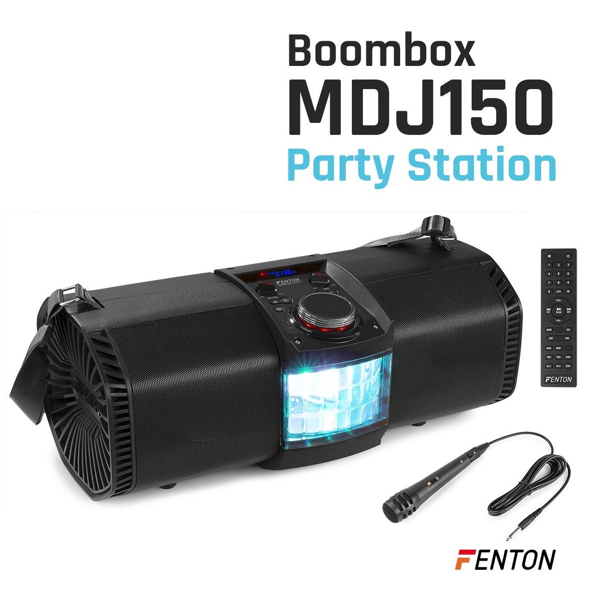 Boombox zasilany akumulatorowo
