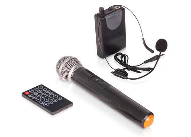 Mikrofony w pudełku
