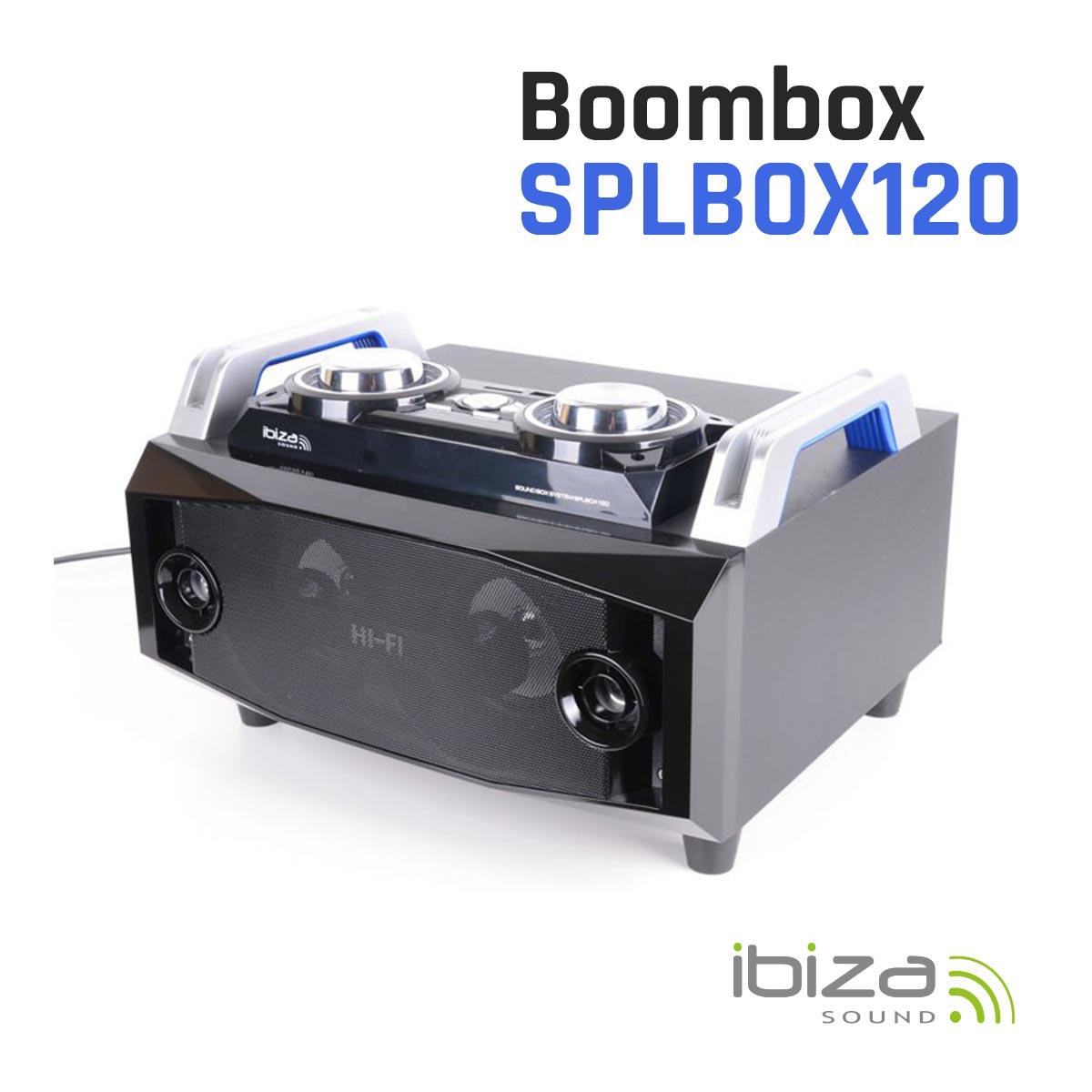 Boombox zasilany akumulatorem