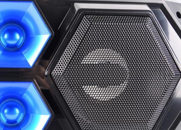 Głośniki podświetlane LED