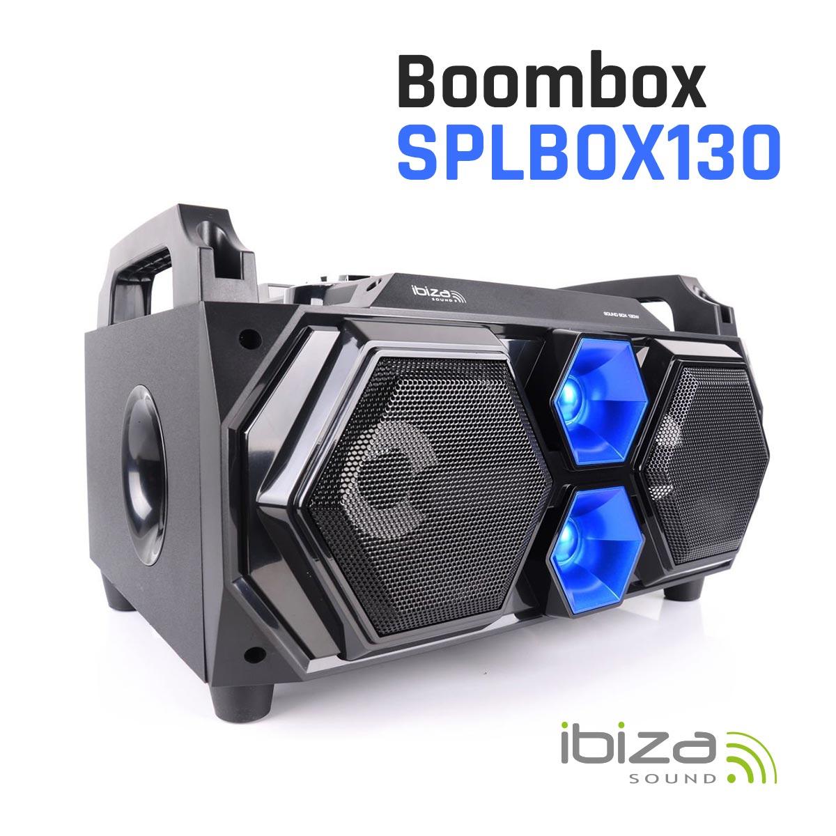 Boombox z pilotem