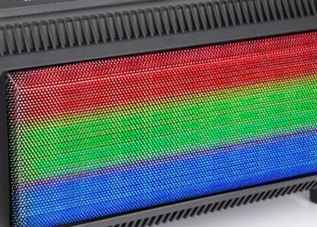 Głośniki podświetlane RGB