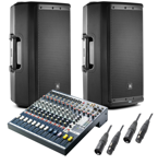 Mikser audio Soundcraft  EFX8+2x Eon612+kable SET