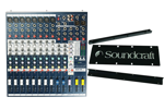 Mikser audio Soundcraft EFX8 + uchwyt rakowy SET