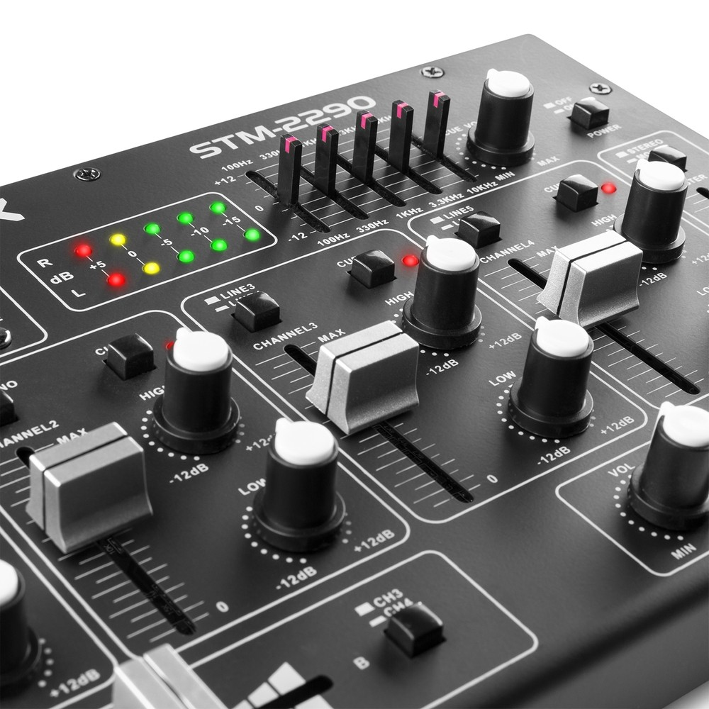 Mikser Dj'ski SkyTec STM2290 SD/USB/MP3/BT